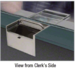 CRL FL3246C Brushed Stainless Deep Transaction Drawer With Cash Tray