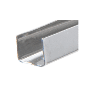 "Stainless Steel 3/8"" U-Channel"
