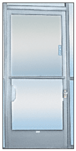 """CRL 922A Satin Anodized 2-5/8"""" x 12-1/8"""" Deluxe Mail Slot with Glass Channel Bar Without Latch"""