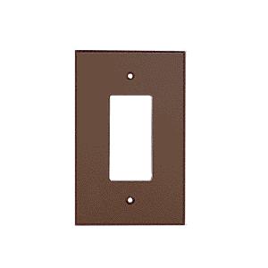 CRL PMP102BRZ Bronze Single Designer Acrylic Mirror Plate