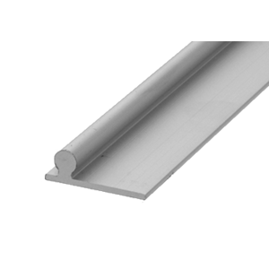 """CRL PLD1664 Aluminum 120"""" Sliding Glass Door Replacement Rail"""