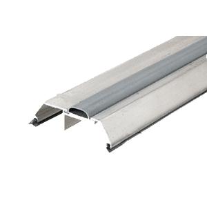 """CRL TH007AV72 Aluminum 72"""" Saddle Threshold With Vinyl Cap 3-1/2"""" Wide 1-1/8"""" High"""