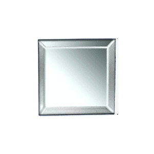 Clear Mirror Square Shape Glass Mirror Baguettes Pack of 40