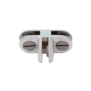 CRL ZLC3CH Chrome T-Style Three-Way 90 Degree Display Connector