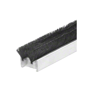 "CRL R011G83L 83-1/4"" Narrow Commercial Door Astragal with Weatherstrip"