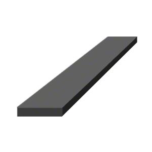 """CRL SBSN4 1/4"""" x 1-1/8"""" x 4"""" Silicone Rubber Setting Blocks"""