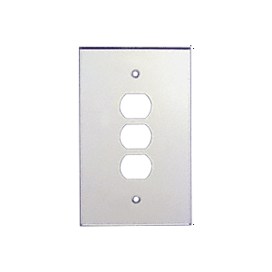 CRL PMP108 Clear Triple Despard Acrylic Mirror Plate
