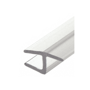 "Polycarbonate H-Jamb 180 Degree for 3/8"" Glass"