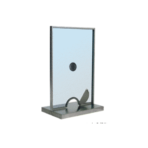 CRL SCW102N Satin Anodized Ticket Window Unit