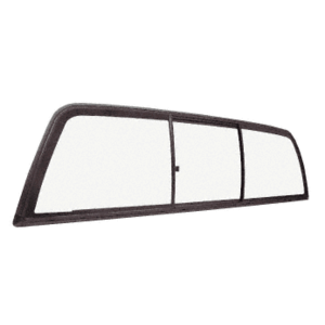 "CRL ECT410B ""Perfect Fit"" Three-Panel Tri-Vent with Clear Glass for 1997+ Dodge Dakota"