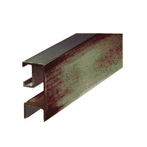 "CRL RF1440RB Oil Rubbed Bronze Rectangular Mirror Frame Extrusion 144"" Stock Length"