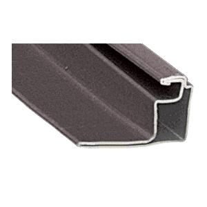 """CRL WSFS34BRZ Bronze 3/4"""" Roll Formed Aluminum Standoff Screen Frame - 144"""""""