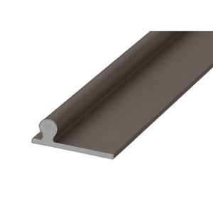 """CRL PLD1679 Bronze 120"""" Sliding Glass Door Replacement Rail"""