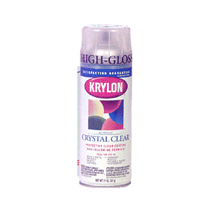 KRYLON KP1301 Crystal Clear Spray Paint