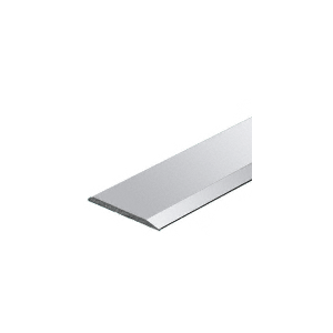 "Polished Aluminum 5/8"" Flat Face Mirror Edge Molding"