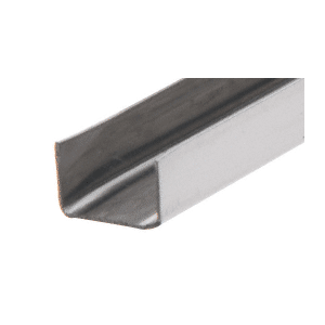 "CRL SS901 Stainless Steel 1/2"" U-Channel"