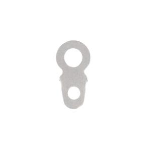 Small Oval Eyelet Flat Metal Type Hangers