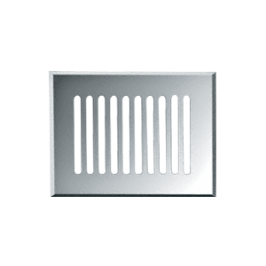 "CRL GMG812C Clear Mirror 8"" x 12"" Glass Mirror Grille"