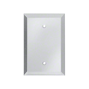 CRL GMP5C Clear Blank with Screw Holes Glass Mirror Plate