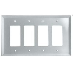 CRL GMP17C Clear Quad Designer Glass Mirror Plate