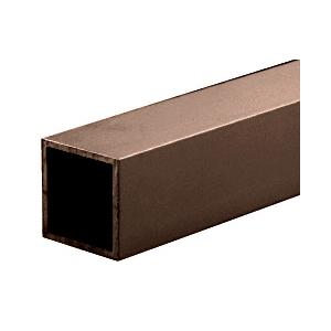 """CRL D70DU Dark Bronze 3/4"""" Square Tube Extrusion"""