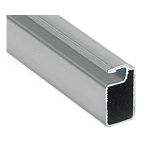 "CRL WSF346GRY Gray 3/4"" x 3/8"" Roll Formed Aluminum Screen Frame - 144"""