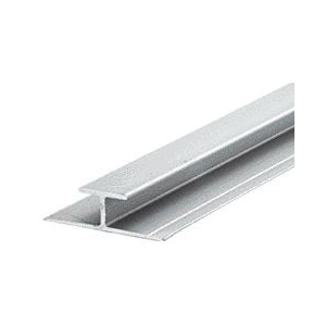 "CRL D901A Satin Anodized Aluminum Divider Bar 144"" Stock Length"