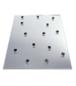 "CRL PNA12B 1/2"" x 1/2"" Pebbled Non-Adhesive Shipping Pads"
