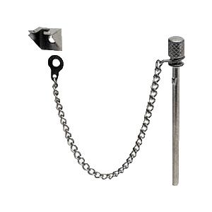 CRL S4011B Zinc Plated Sliding Window and Door 'Nite-Lock' Pin - Bulk (25) Pack