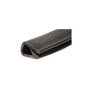 CRL 75000336 Black Basketweave 400' QuickEdge Pinch Top Single Lip Trim
