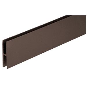 """CRL H18DU Dark Bronze 1/8"""" H-Channel"""