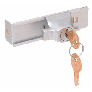 CRL TDK7A Aluminum Stick-On Showcase Lock - Randomly Keyed
