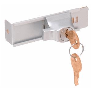 CRL TDK7A Aluminum Stick-On Showcase Lock - Randomly Keyed