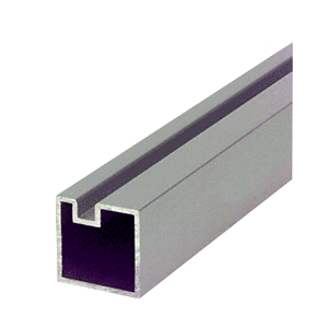"CRL 6433000 Satin Anodized 146"" End Post Extrusion"