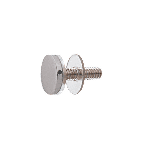 """CRL CAP34BS 316 Brushed Stainless 3/4"""" Diameter Standoff Cap Assembly"""