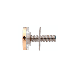 """CRL CAP34BR Brass 3/4"""" Diameter Standoff Cap Assembly"""