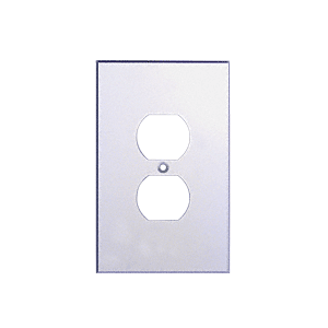CRL PMP103 Clear Single Duplex Plug Acrylic Mirror Plate