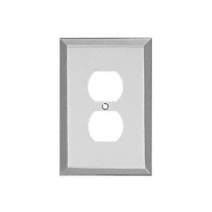 CRL MMP2CH Chrome Single Duplex Metal Mirror Plate