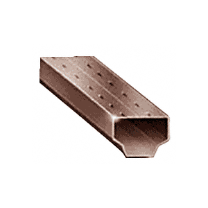 """CRL 3455630 3/16"""" Dark Bronze Standard Laser-Welded Spacer 152"""" Stock Length"""