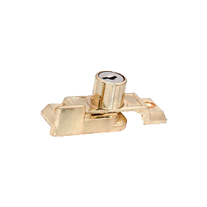 CRL S4449 Brass Slim-Line Keyed Sash Lock