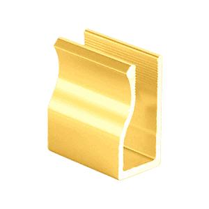 "CRL 3800503 Brite Gold 98"" Standard Rail"