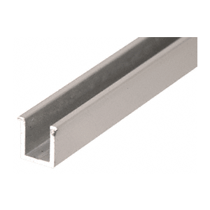 "CRL 1N06BN Brushed Nickel 6mm Replacement 36"" Snap-In Filler Insert for Junior Headers"