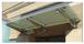 "CRL GAB36BS Brushed Stainless 36"" Universal Wall Mounted Glass Awning Bracket"