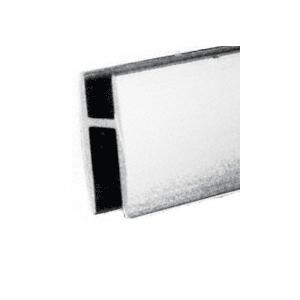 "CRL 3255065 Deluxe Silver Aluminum Tall 'H' Bar 144"" Stock Length"