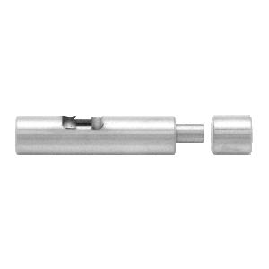 CRL UV6258 Brushed Stainless UV Bond 10mm Diameter Bolt Lock for Double Doors