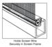 "CRL SS150B .150"" Gray Serrated Screen Retainer Spline Bulk 15 Pound Roll"