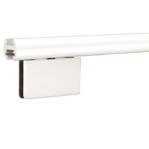 "White 95"" EZ-Adjust Shower Door Header Kit"