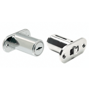 CRL FG779 Chrome T-Bolt Plunger Lock