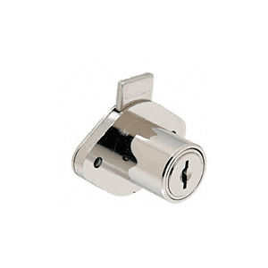 CRL FG777 Chrome Deadbolt Drawer Lock