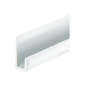 "Brite Anodized Aluminum 3/16"" J-Channel"